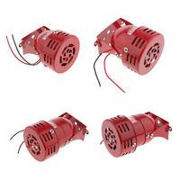 Industrial Siren Motor Alarm Buzzer Alarm High Power Iron, 110db, 12V - 220V