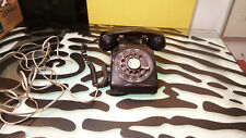 Northern Electric Vintage Telephone NE-500 Poor Condition Black Untested]]]]]