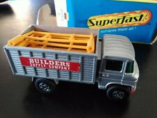 MATCHBOX LESNEY SUPERFAST # 11 SCAFFOLDING TRUCK with the BOX
