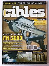"""CIBLES n°375 du 06/2001; """"Tir et Loisirs"""" a Auxerre/ FN 2000/ Armalite AR-10"""