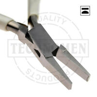 HALF ROUND FLAT NOSE JAWS BEADING JEWELLERY JEWELRY FORMING WATCH MAKING PLIERS