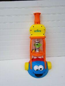 Vtg. Seasame Street Vacuum Pretend Toy