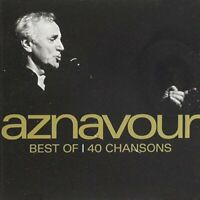 CHARLES AZNAVOUR - BEST OF - 40 SONGS [CD]