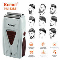 Men Electric Shaver Razor Beard Trimmer Hair Shaving Machine USB Rechargeable