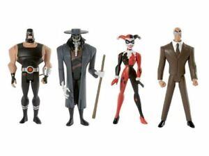 DC Universe Gotham City Criminals Set of 4~ Clock King, Harley Quinn, Bane +More