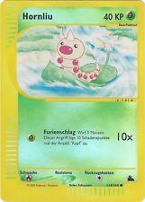 CCG 390 Pokemon Skyridge Reverse Holo Hornliu / Weedle 114/144
