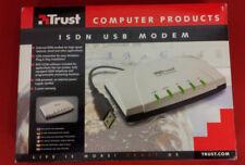 Trust ISDN USB Modem (no adsl) in confezione originale con manuali, cd e cavi