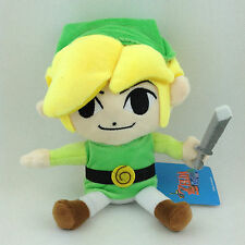 "Link The Legend of Zelda Figure Nintendo Game Stuffed Animal Soft Plush Toy 7"""