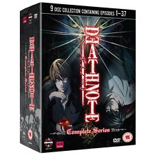 "DEATH NOTE COMPLETE SERIES COLLECTION 9 DISC DVD BOX SET ""NEW&SEALED"""