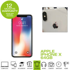 New Apple iPhone X  SIM-Free 64GB Smartphone Silver