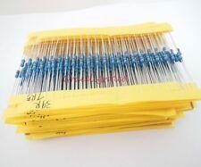 64 values 1280pcs 1 ohm - 10M ohm 1/4W Metal Film Resistors  Assortment Kit