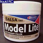 Deluxe Materials DLMBD6 Model Lite Balsa Filler Balsa Brown: 240cc