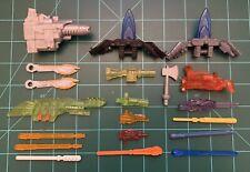 Vintage TRANSFORMERS Misc ACCESSORIES Weapons Parts Pieces LOT