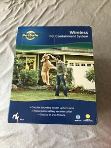 NEW PetSafe Wireless Pet Containment System PIF-300