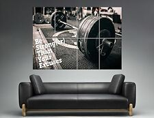 BODYBUILDING BODYBUILDER MUSCULATION Wall Art Poster Grand format A0 Large Print
