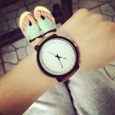Klassisch Sport Uhren Herren Damenuhr Großes Zifferblatt Lässig Armbanduhr Uhr