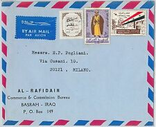 58767  -  IRAQ  - POSTAL HISTORY: COVER to  ITALY - MILITARY