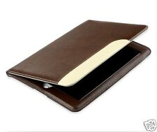Flip Case For Apple iPad 2/3/4 Pu Leather Magnetic Cover Wake up sleep brown