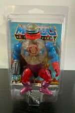 Roboto Complete With Mini Comic Vintage He-man Action Figure and Case MOTU