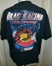 STROMBERG EQUIPPED VINTAGE INSPIRED  DRAG STRIP HOT ROD RAT RACING TSHIRT