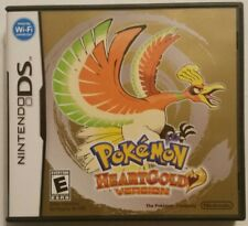 Pokemon HeartGold Version (NDS, 2010) *with Instructions* SHIPS FAST Mon-Sat!