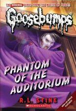 Phantom of the Auditorium Goosebumps by R L Stine 9780545298360 New Book