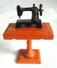 Melissa and Doug Table Stand with Sewing Machine Dollhouse Furniture 2.5""