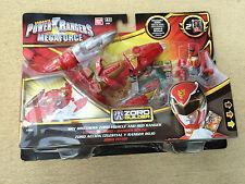 Power Rangers Megaforce ZORD BUILDER rouge véhicule Megazord Builder-New in Box