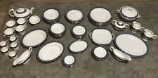 More details for aynsley blue mist dinner service excellent condition