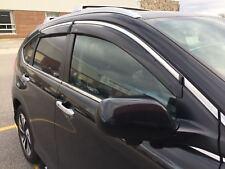 2012-2016 Honda CR-V CRV Chrome Trim Window Visor