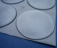 4x Silber Embleme für Nabenkappen Felgendeckel 69mm Silikon Aufkleber 3D 1332