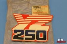 NOS YAMAHA 1986 YZ250 S SIDE COVER FUEL TSNK 7 GRAPHIC PART# 1LU-24254-00