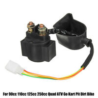 Starter Solenoid Relay For 90cc 110cc 125cc 250cc Scooter Pit Dirt Bike Quad ATV