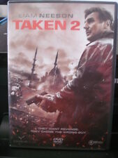Taken 2 (DVD) Liam Neeson REGION 2 ONLY, WILL NOT PLAY IN U.S. PLAYERS