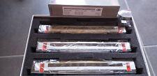 SNCB/ NMBS LS MODELS SET DE 3 VOITURES I 11-AVEC 4 GRILLES HO-DC  N° 43048