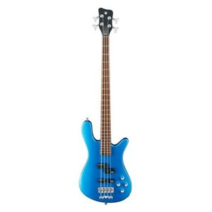 Warwick RockBass Streamer LX 4-String Solid Blue Metallic High Polish