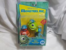 NEW Monsters Inc. Top Scare Assistants Mike Wazowski Frungus & Ray Toy Figures