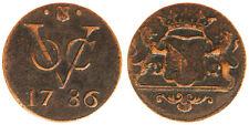 1 DUIT 1786 EST INDIA OLANDESE NETHERLANDS EAST INDIES #1245A