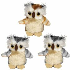 3 Small Owl Soft Toys By Ark Toys - Cuddly Toys