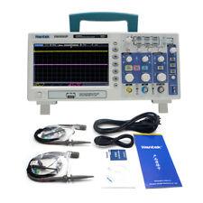 Digital Oscilloscope Portable 2 Ch 200mhz Lcd Pc Usb Handheld Oscilloscopes
