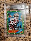 🔥 Jerry Rice Signed/Autographed 1986 Topps Rookie Card  Beckett Certified
