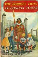THE BOBBSEY TWINS at London Tower by Laura Lee Hope (1959) G&D HC