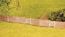 Wills - SS44 - OO Gauge Larch Lap Fencing Including Gates Plastic Kit