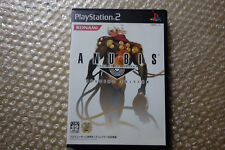 "Anubis Zone of the Enders PS2 ""Good Condition"" Sony Playstation2 Japan"