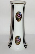 Vecchio Vaso Di Porcellana Stile Liberty Art Nouveau Stripes