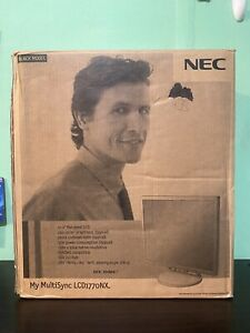 "NEC MultiSync LCD1770NX 17"" Flat Panel Monitor - Complete - View Pictures"