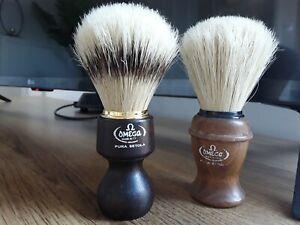 Omega Shaving Brushes X2