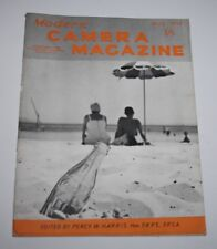 Modern Camera Magazine, August 1954 - Are Colour Photographs Good?