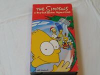 The Simpsons Christmas Special (VHS, 1991 Fox Video)