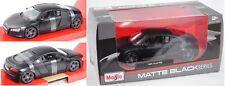Maisto 31281 Audi R8 4.2 FSI, mattschwarz, 1:24